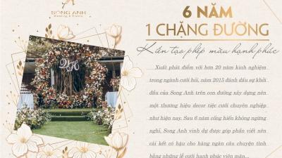 Hành trình 6 năm của Song Anh ghi dấu ấn cùng 2000 cặp đôi hạnh phúc