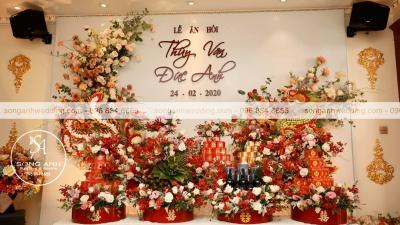 Tráp ăn hỏi - Nét độc đáo trong phong tục cưới hỏi của người Việt