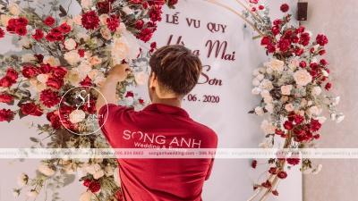 TRANG TRÍ TIỆC CƯỚI TRỌN GÓI HÀNG ĐẦU HÀ NỘI - SONG ANH WEDDING & EVENTS