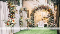 Cách dựng rạp cưới tối ưu nhất dành cho các ngôi nhà trong ngõ nhỏ