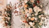 """""""Đứng hình"""" vì vẻ đẹp của hoa lụa trong trang trí tiệc cưới"""