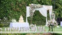 Những ý tưởng trang trí tiệc cưới ngoài trời cho ngày đại hỷ đầy dấu ấn