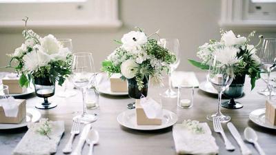 Décor tiệc cưới phong cách Minimalism - Đơn giản và Tinh tế