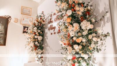 Các bước lên ý tưởng trang trí cho tiệc cưới hoàn hảo