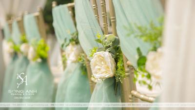 Ứng dụng phong thủy trong trang trí tiệc cưới