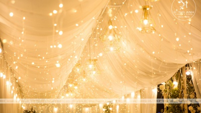 Tự tay trang trí tiệc cưới tại nhà: Những điều cần biết!