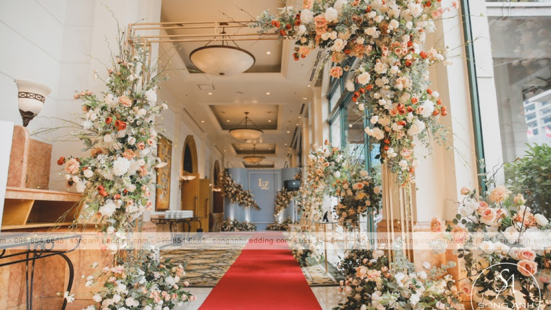 Phù thủy décor tiệc cưới Hà thành - Song Anh Wedding & Events: Từ những rạp cưới chất ngất cho đến những không gian tiệc cưới đẳng cấp