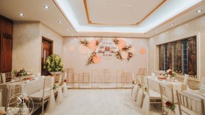Update 5 mẫu trang trí tiệc cưới tư gia mới nhất tại Hà Nội