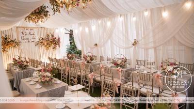 Có cần thiết phải trang trí tiệc cưới tại nhà hay không?
