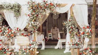 Tại sao nên đặt dịch vụ trang trí tiệc cưới trong tháng thất tịch?