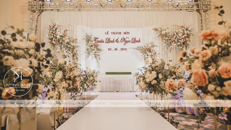 Quy trình tổ chức tiệc cưới tại nhà hàng bạn đã biết chưa?