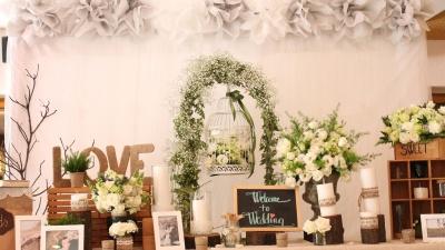 Phụ kiện trang trí tiệc cưới mang phong vị hoài cổ - phong cách Vintage