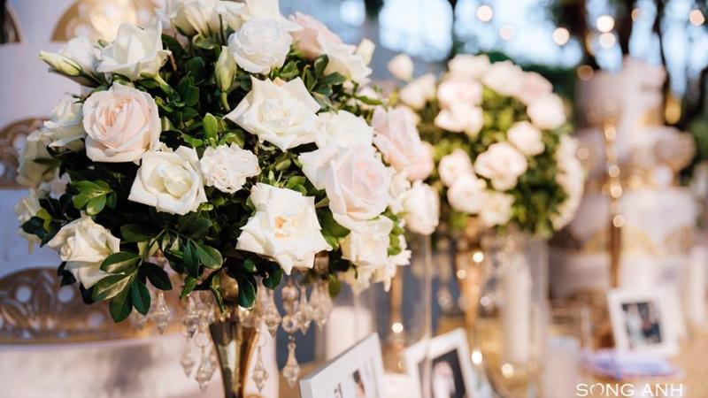All - white wedding, khi sắc trắng chưa bao giờ lỗi thời