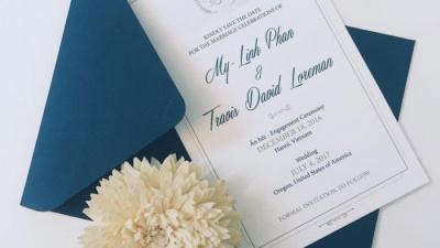Thiệp cưới xinh lung linh, đón tay khách mời