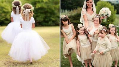 5 lưu ý cần thiết khi chuẩn bị đám cưới có khách mời nhí