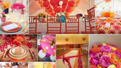 Lưu ý khi chọn màu sắc chủ đạo cho đám cưới lộng lẫy