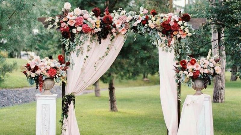 Tuyển tập những mẫu cổng vào cho đám cưới