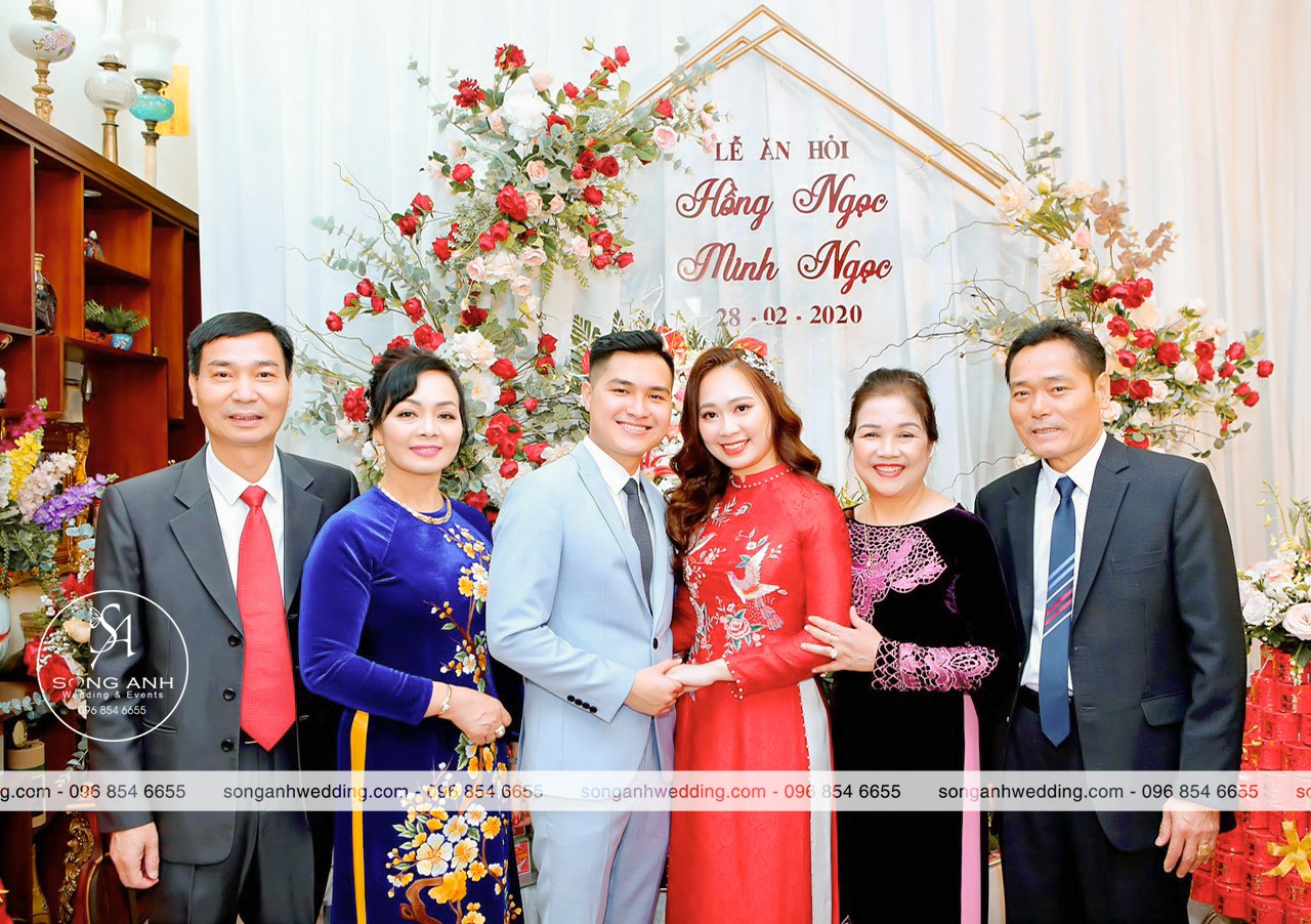 Lễ ăn hỏi là nghi thức quan trọng thể hiện hôn sự đã được hai nhà đính ước