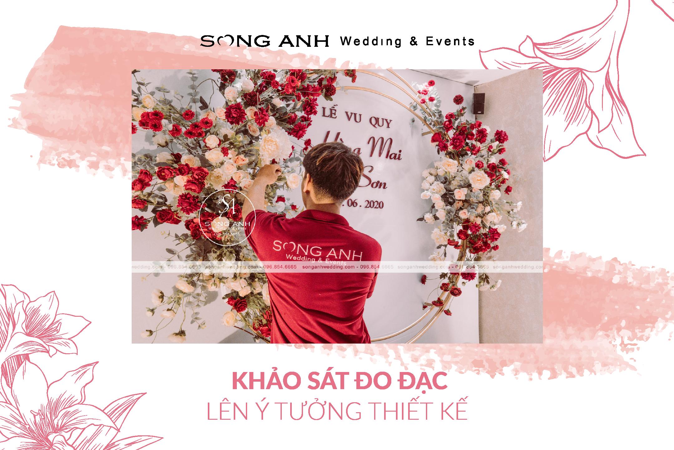 Đội ngũ sản xuất và thiết kế của Song Anh làm việc chuẩn xác và đầu tư chất xám cho ý tưởng thiết kế