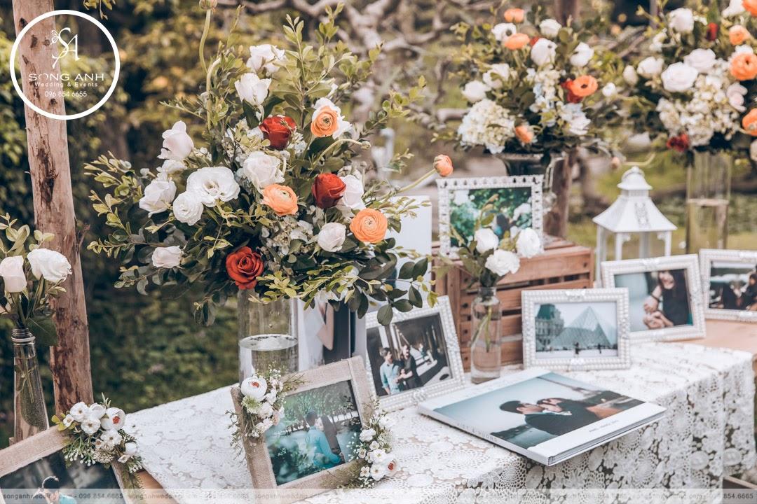 Trang trí tiệc cưới cổ điển