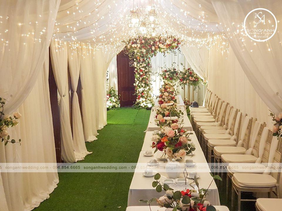 dịch vụ trang trí tiệc cưới trọn gói tại Hà Nội