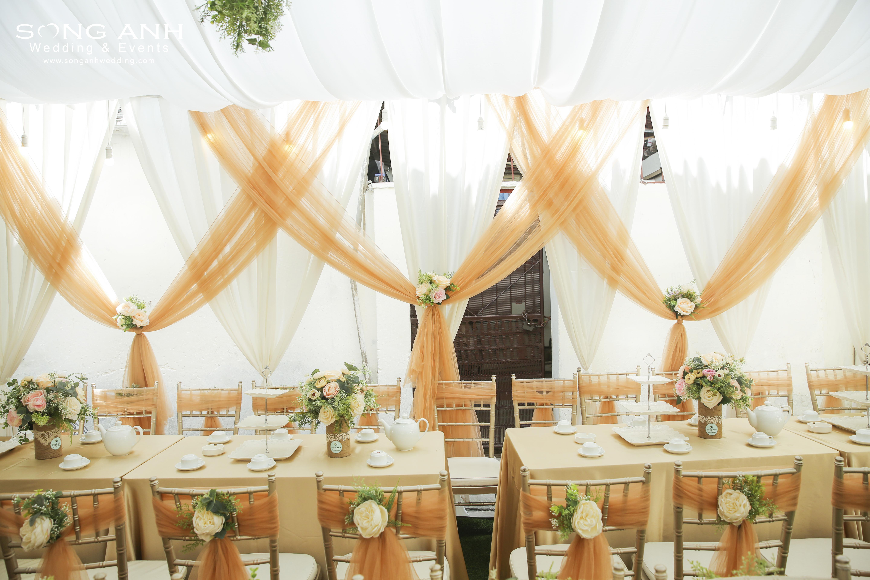 Kế hoạch trang trí tiệc cưới cho cặp đôi bận rộn