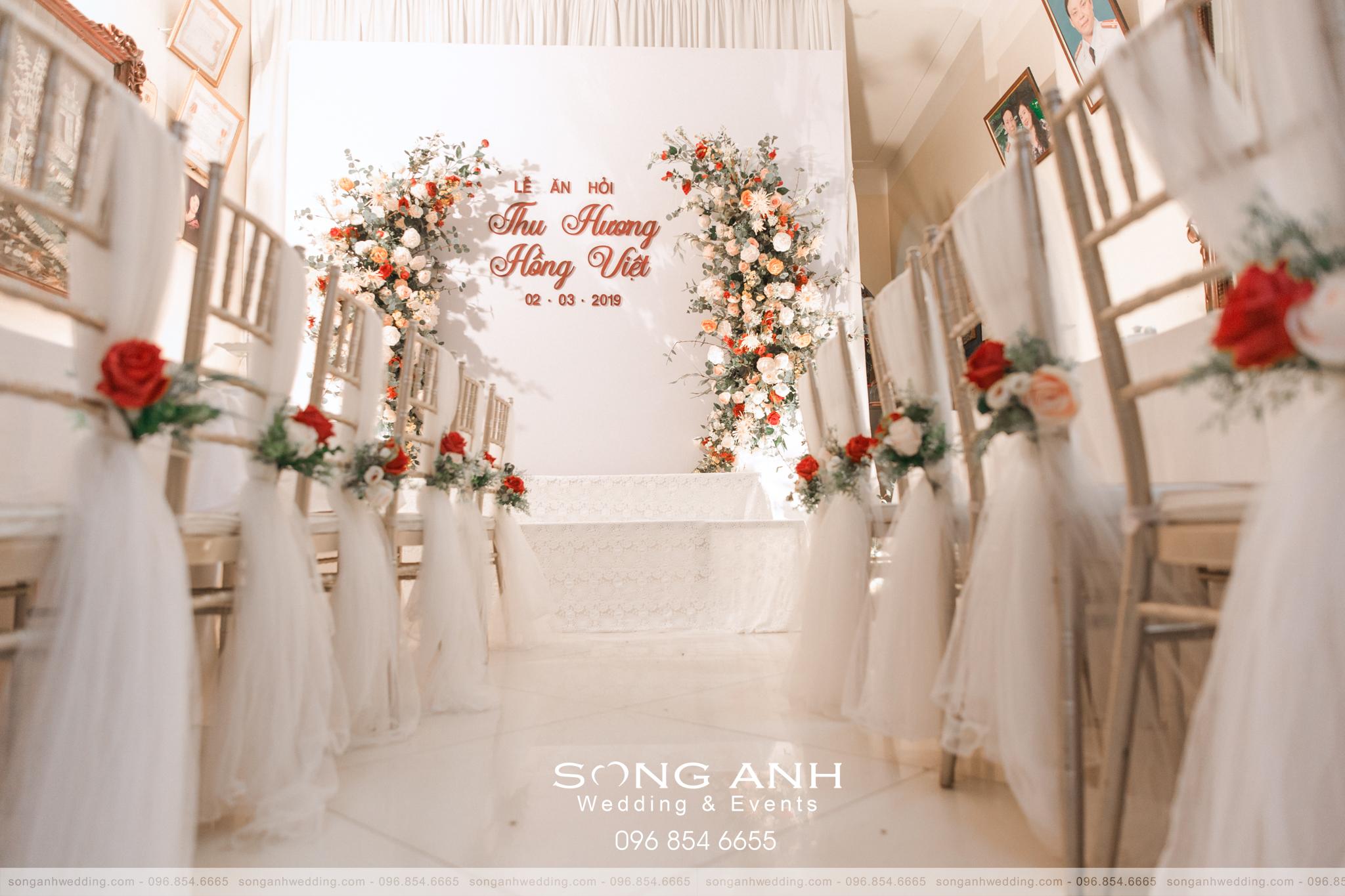 không gian tiệc cưới đẳng cấp