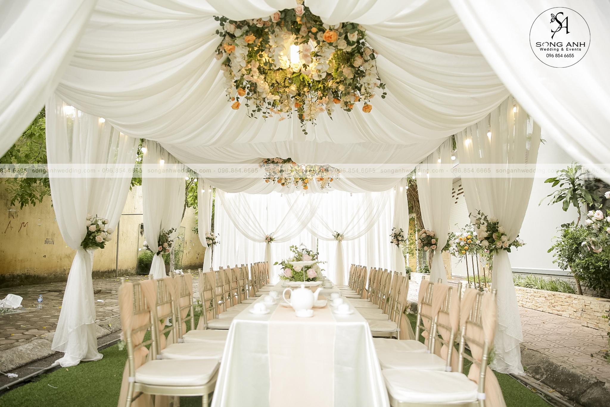 trang trí tiệc cưới dấu ấn cá nhân