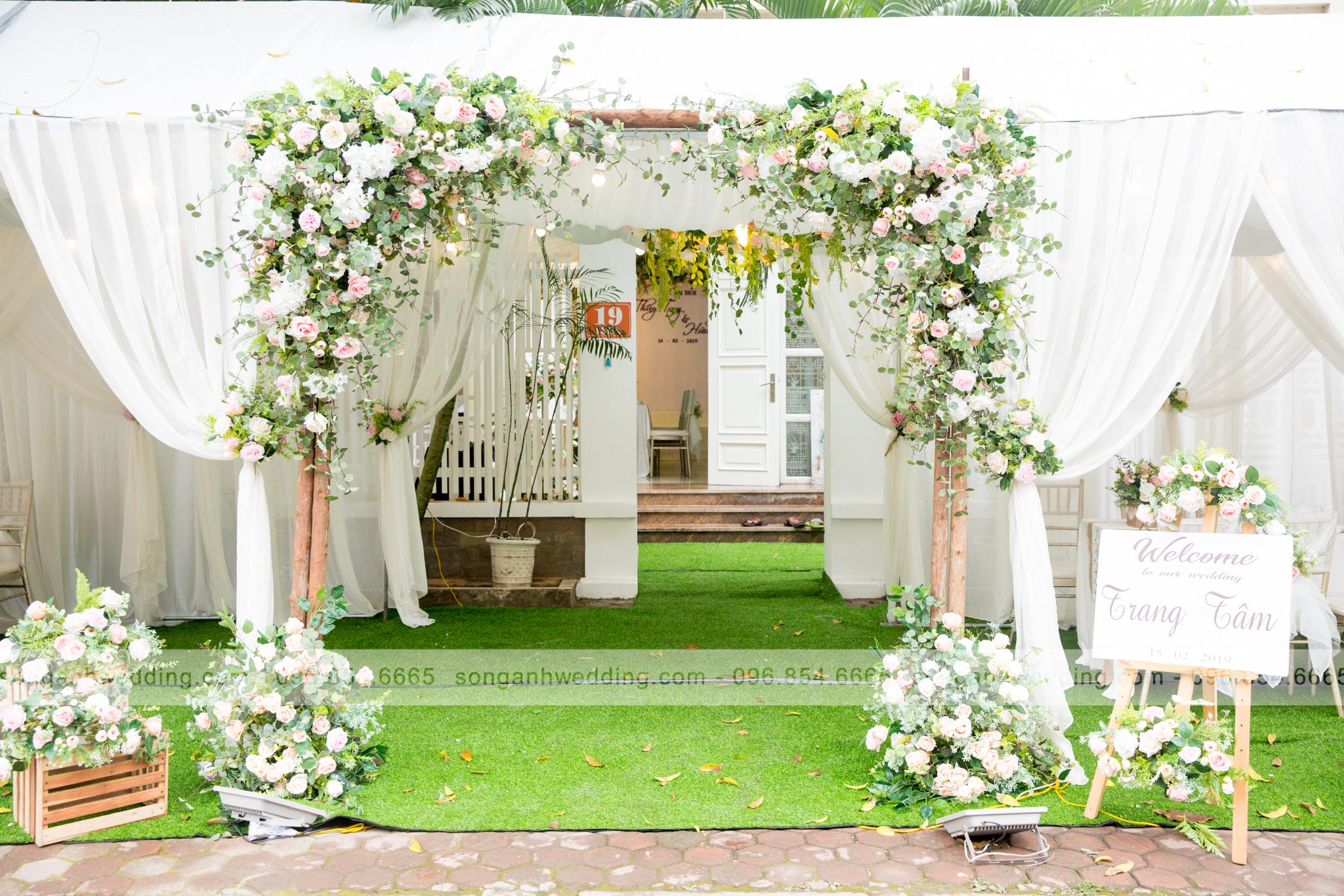 Thương hiệu trang trí tiệc cưới