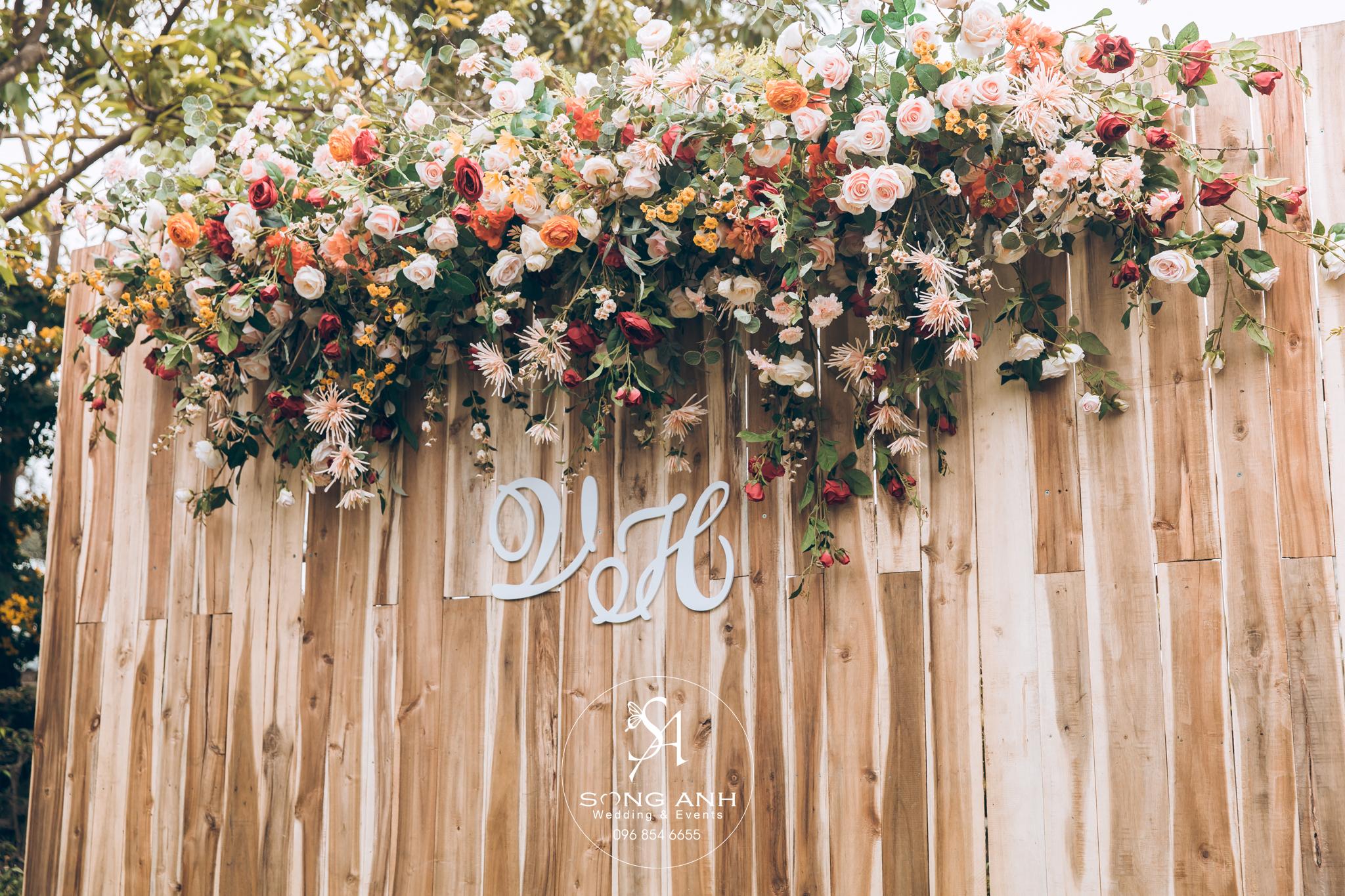 concept trang trí tiệc cưới mùa cưới 2019-2020