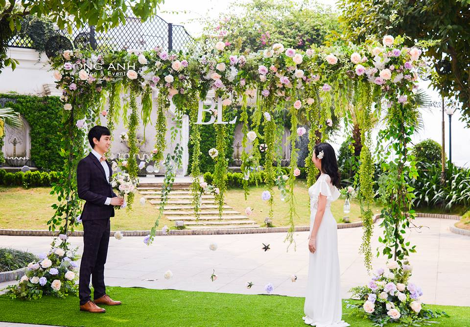 các bước lên ý tưởng trang trí tiệc cưới
