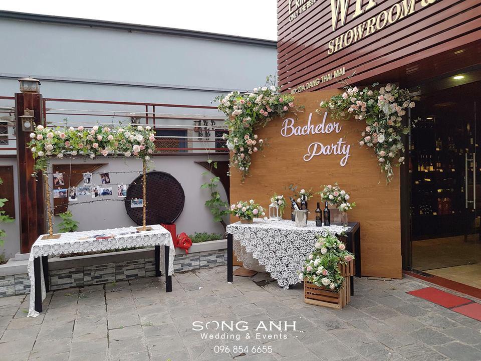 xu hướng trang trí tiệc cưới 2019