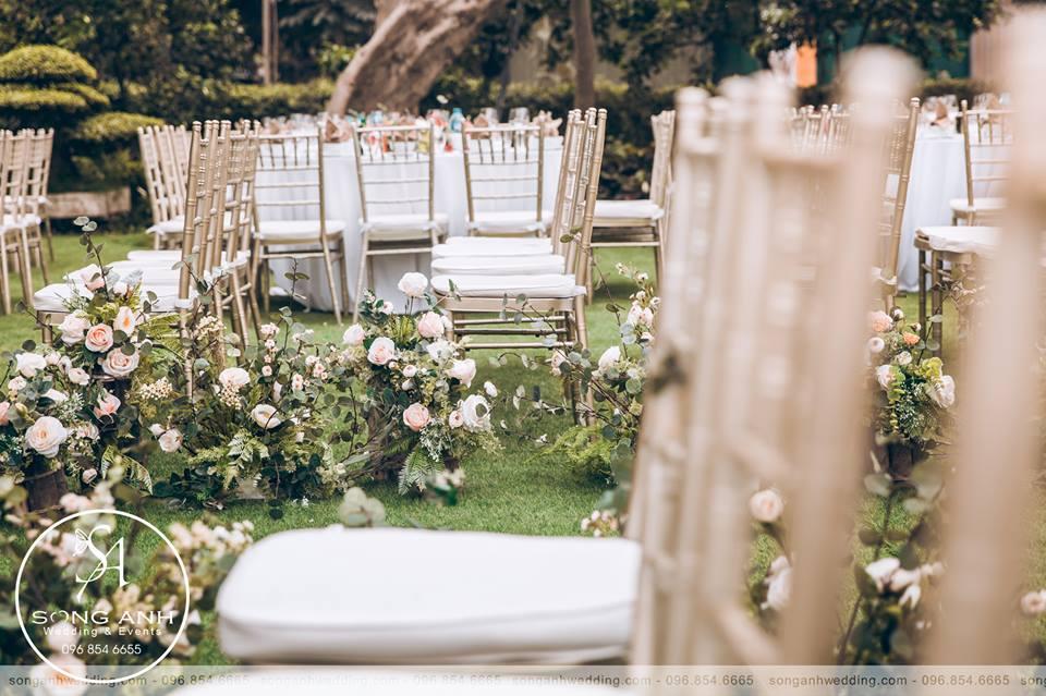 trang trí tiệc cưới độc đáo