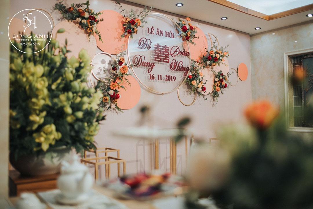 Bước trang trí cưới hỏi