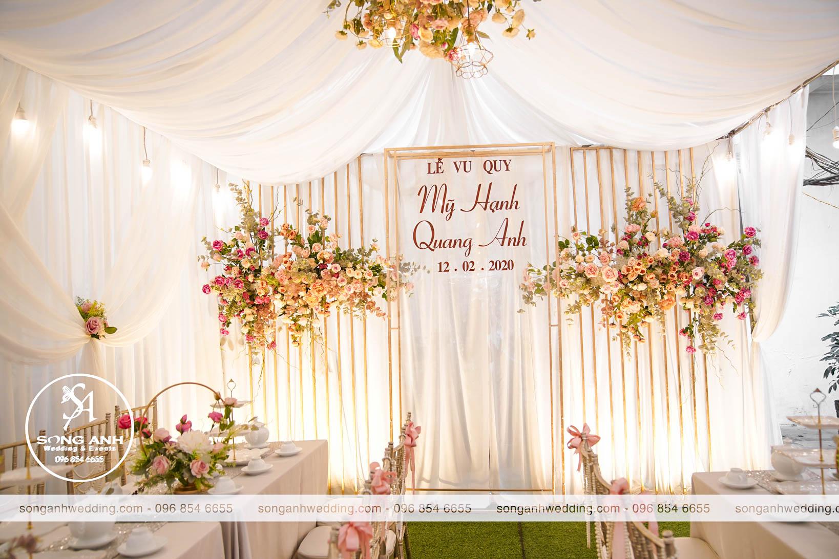 Xu hướng tổ chức tiệc cưới năm 2020