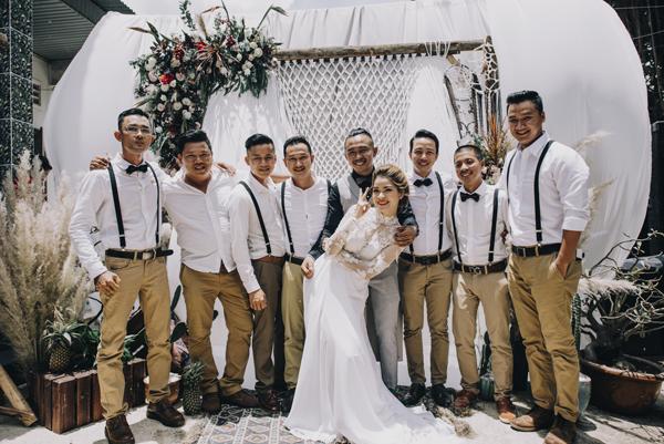 Trang trí tiệc cưới phong cách Bohemian