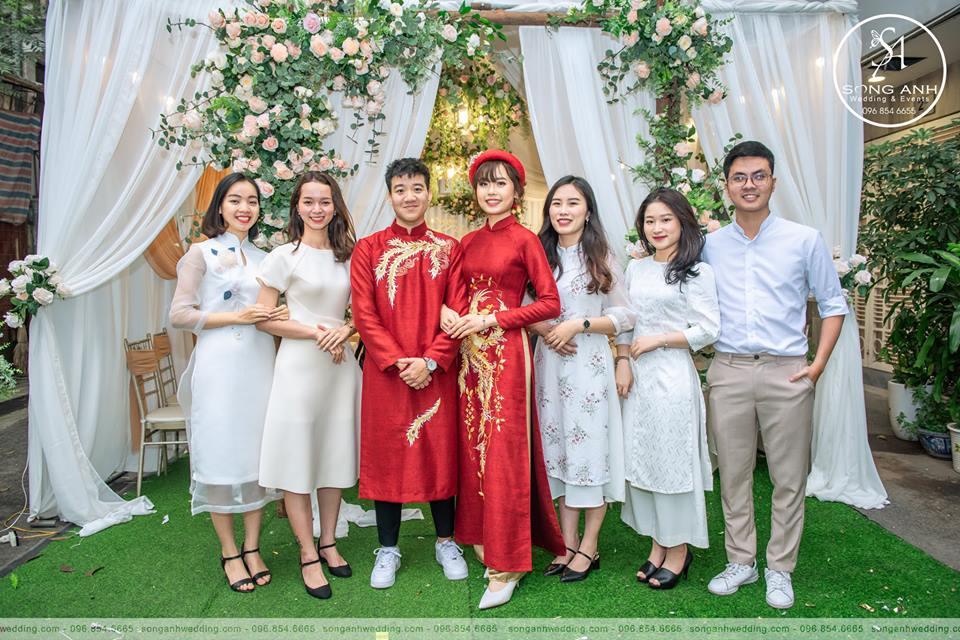 trang trí tiệc cưới mùa thu Hà Nội