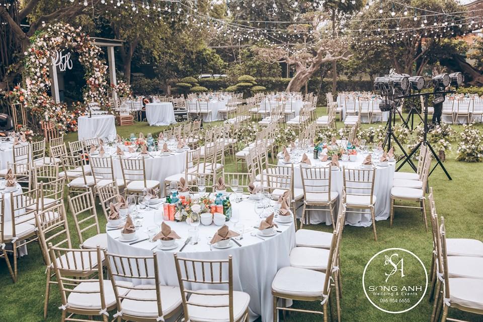địa điểm tổ chức tiệc cưới tại nhà hàng khách sạn ở Hà Nội