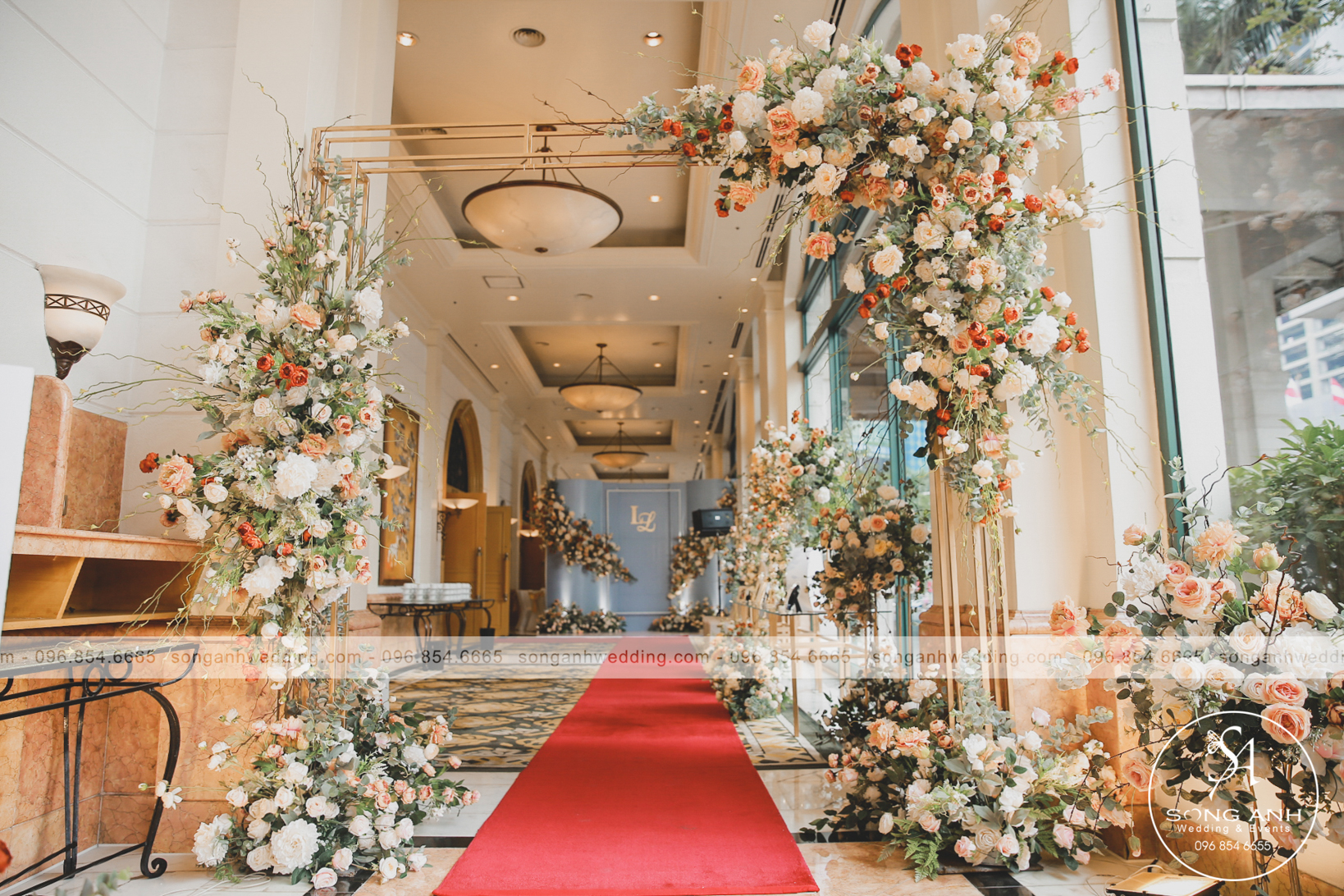 chi phí tổ chức tiệc cưới nhà hàng