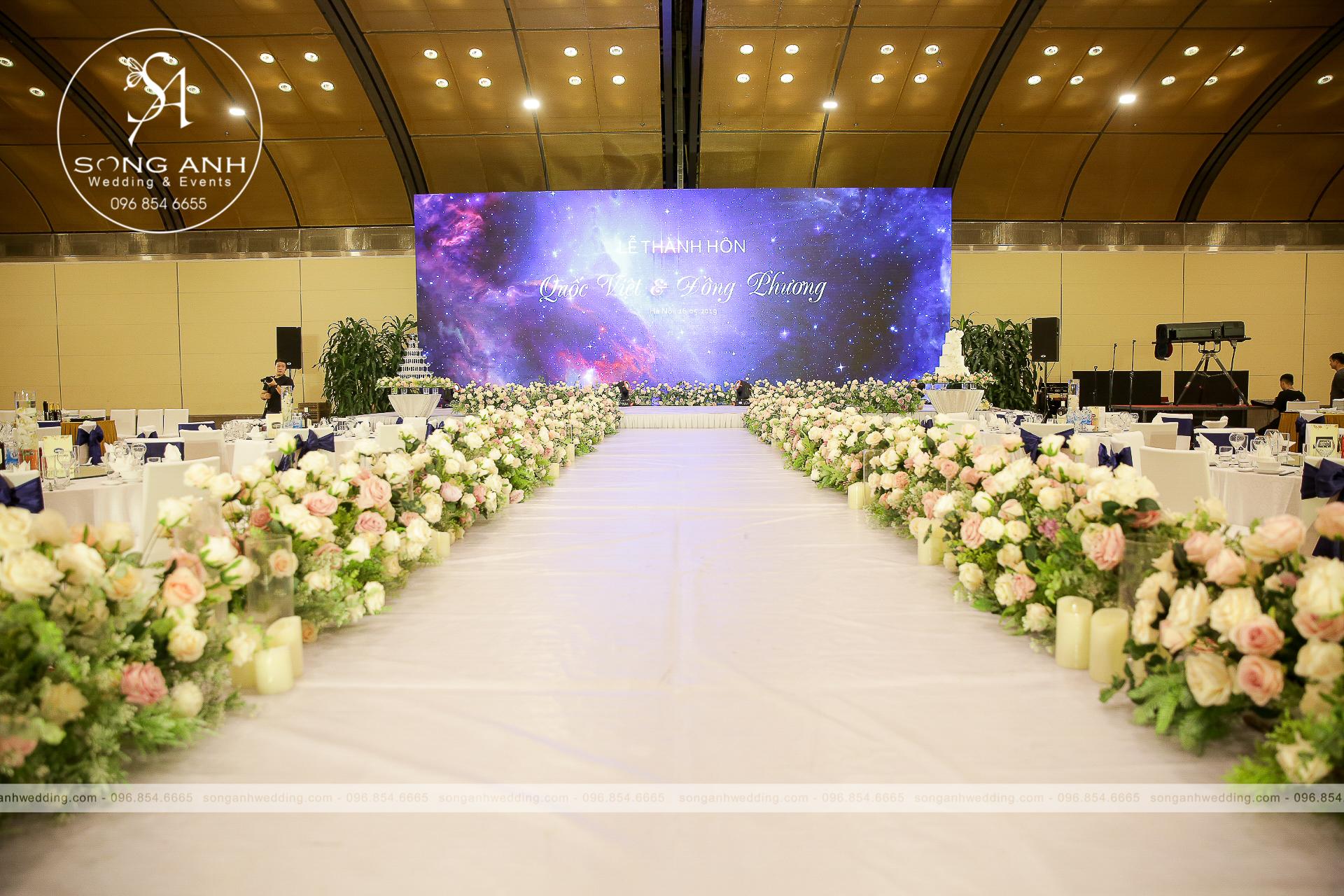 chi phí tổ chức tiệc cưới tại nhà hàng khách sạn