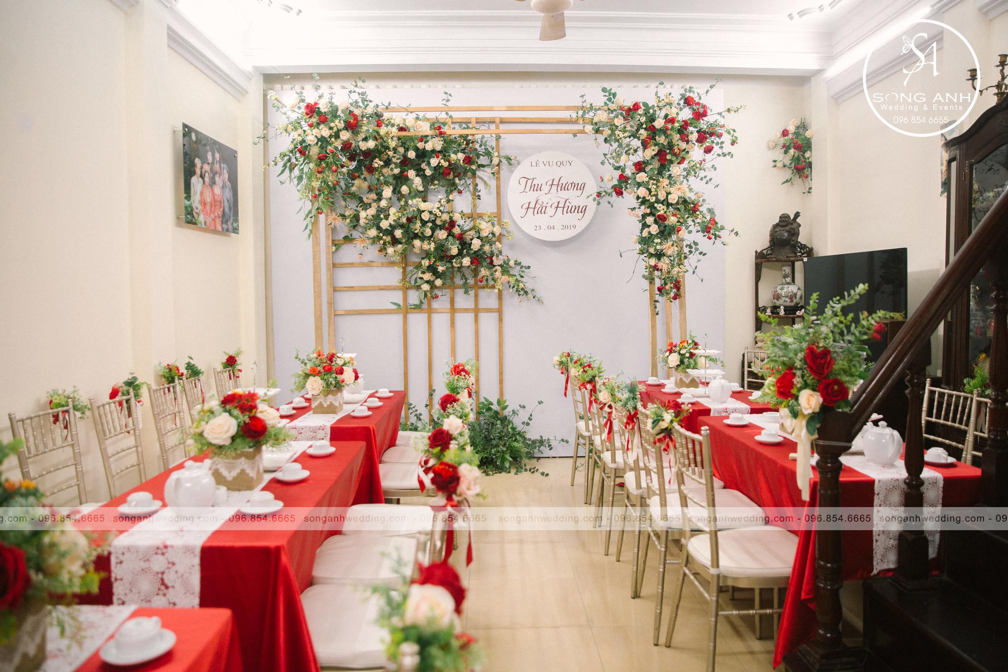 Tiệc cưới tư gia