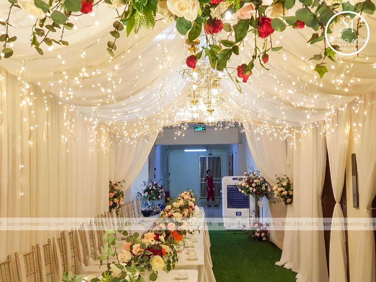 mẫu rạp cưới đẹp