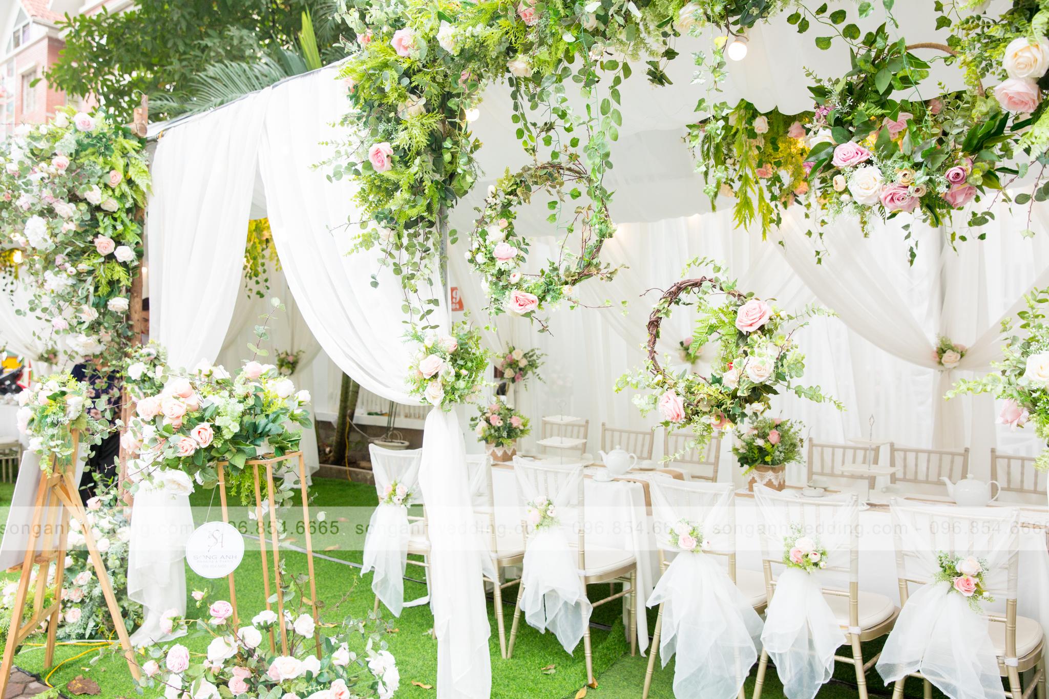 trang trí ngày cưới
