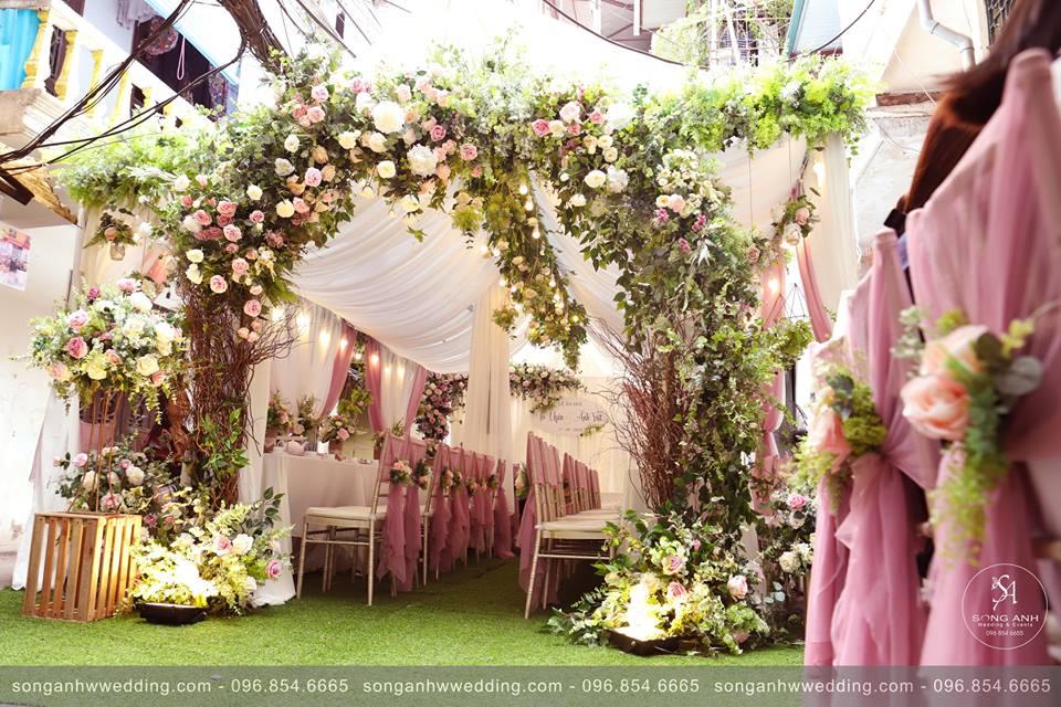 trang trí đám cưới hà nội
