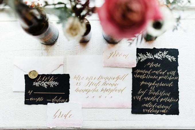 tiệc cưới đen 3