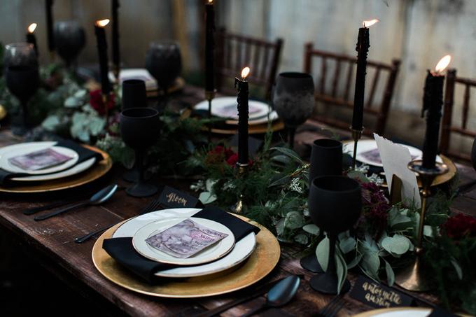 tiệc cưới đen 5