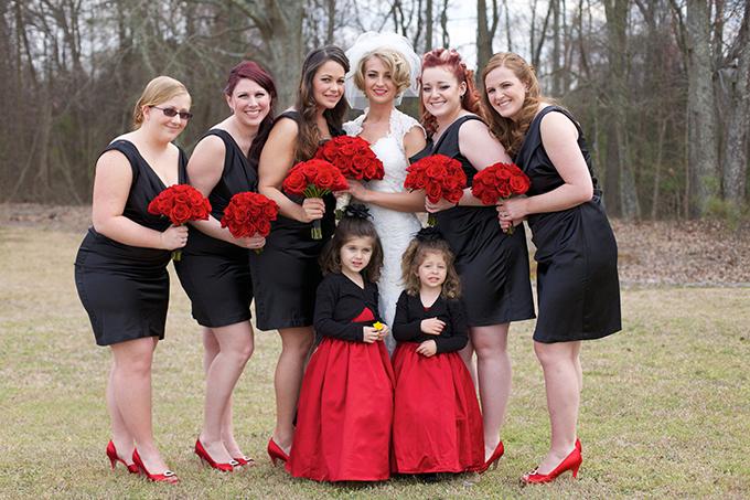 tiệc cưới đen 7