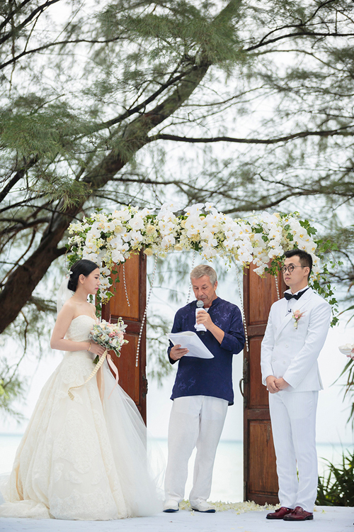 trang trí đám cưới phong cách Châu Âu 1