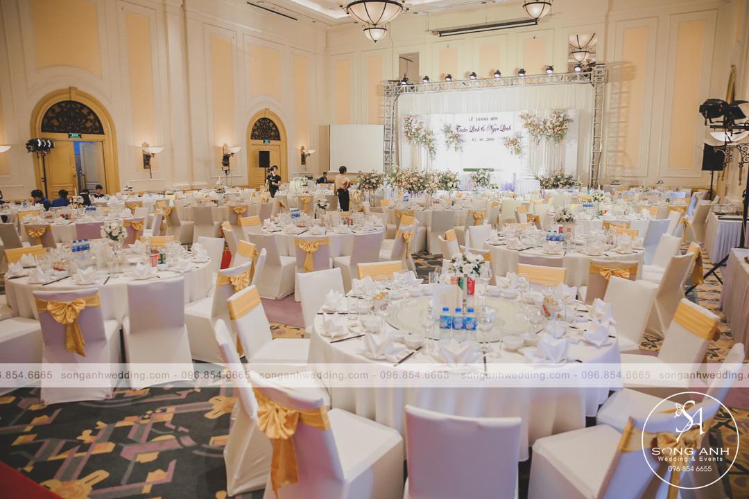 Daewoo Hotel- địa điểm tổ chức tiệc cưới với không gian rộng lớn, trang trọng